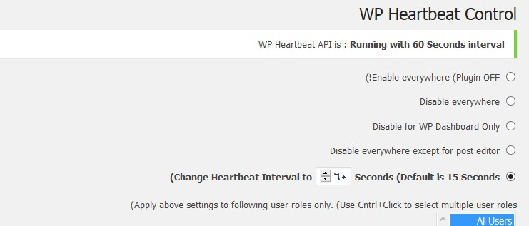 wp-heartbeat-control