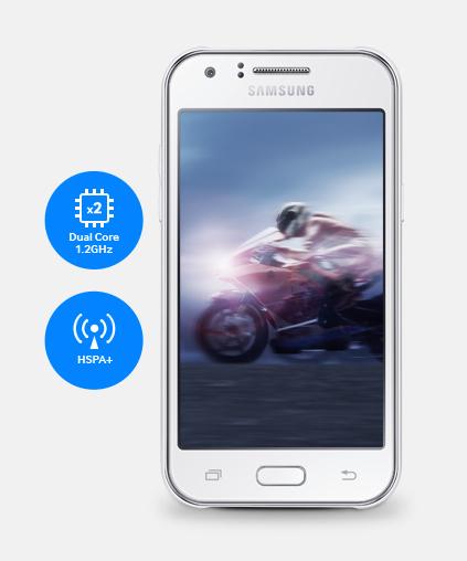 سامسونغ تقدم هاتفها الجديد Galaxy J1