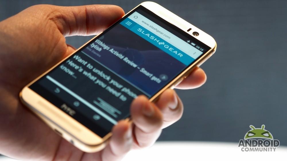 HTC تكشف رسمياً عن هاتفها HTC One M9