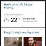 تسريب النسخة التجريبية من المساعد الشخصي Cortana على الأندرويد