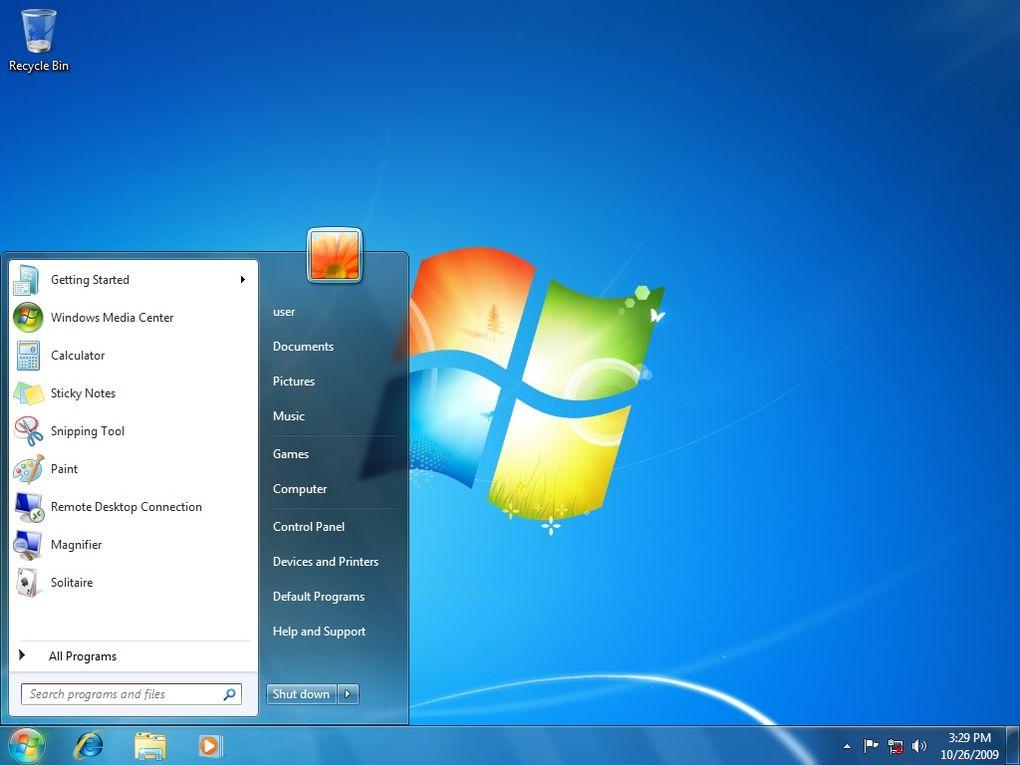 Windows 7 (العام 2009) - أحد أكثر الأنظمة شعبية .. أطلقت مايكروسوفت ويندوز 7 لتصحيح أخطائها في نظام فيستا .. حيث تم تحسين الأداء وواجهة الاستخدام بشكل كبير.