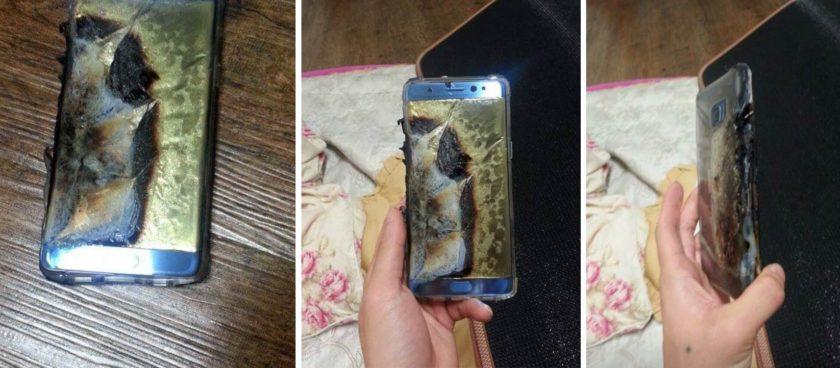 Galaxy Note 7 وخطر انفجار البطارية