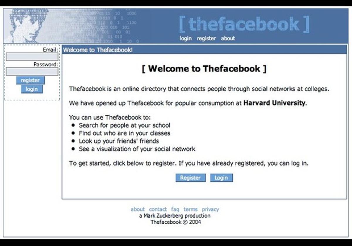 تطور فيسبوك
